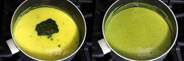 Fafda Chutney Recipe (Kadhi Chutney for Fafda, Cholafali, Gathiya)