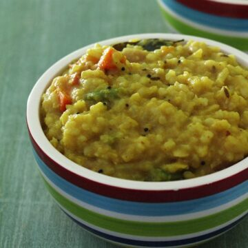 Sambar Rice Recipe (Sambar Sadam Recipe), How to make Sambar Rice