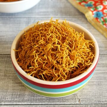 Aloo Bhujia Recipe (Aloo Sev Recipe) How to make Aloo Bhujiya Sev