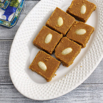Besan Barfi Recipe (How to make Besan Burfi Recipe)