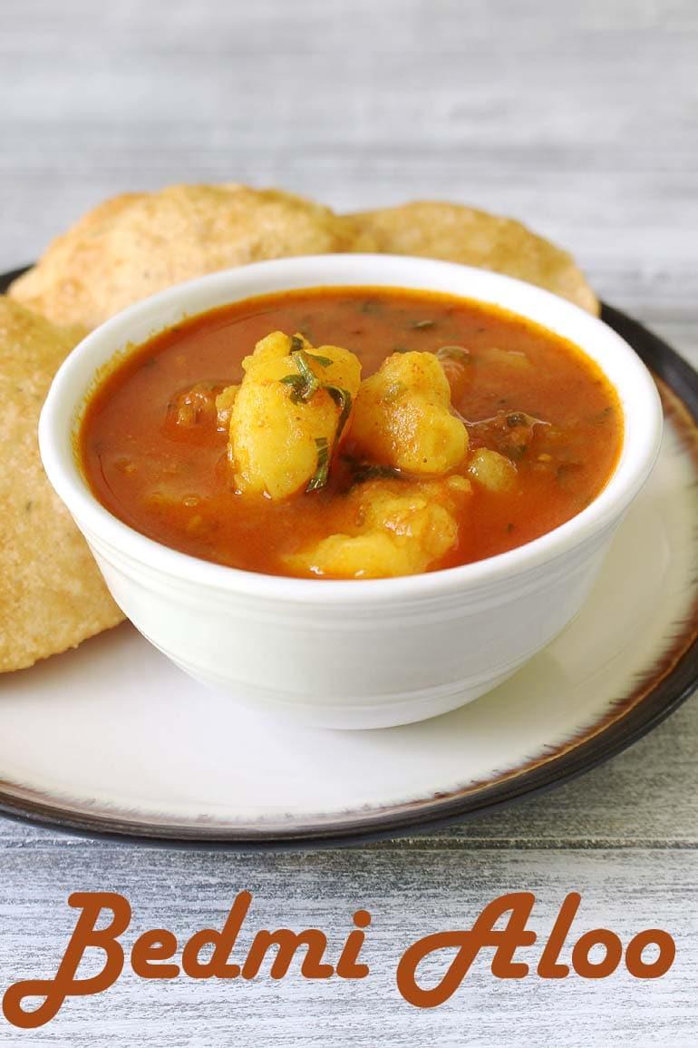 Bedmi Aloo Recipe (Bedmi Puri with Aloo ki Sabzi)
