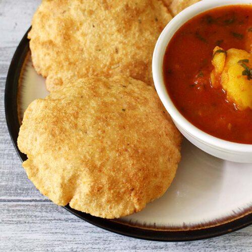 Bedmi Puri Recipe (How to make Bedmi Poori) Crispy Urad Dal Puri