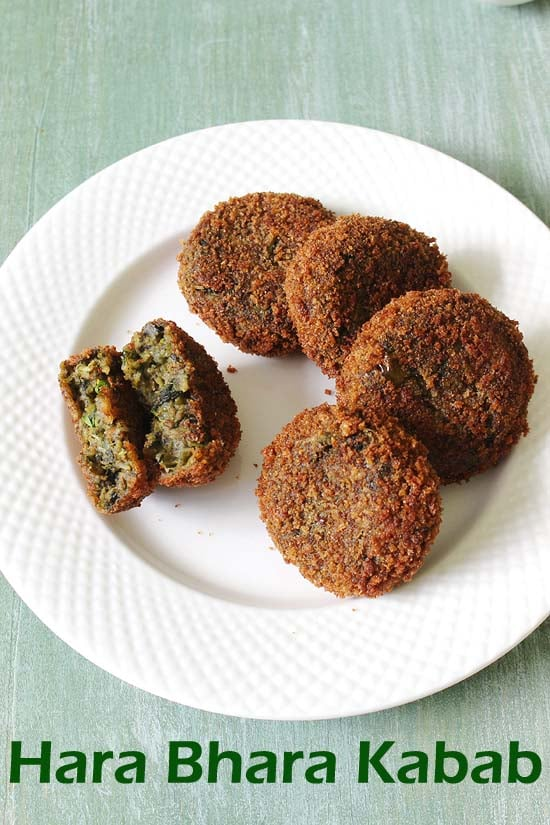 Hara Bhara Kabab Recipe (Restaurant Style Recipe of Hara Bhara Kabab)