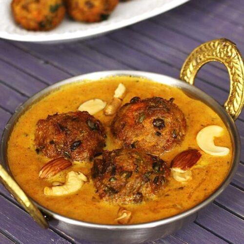 Veg Kofta Curry Recipe (Restaurant Style Mixed Vegetable Kofta Curry)