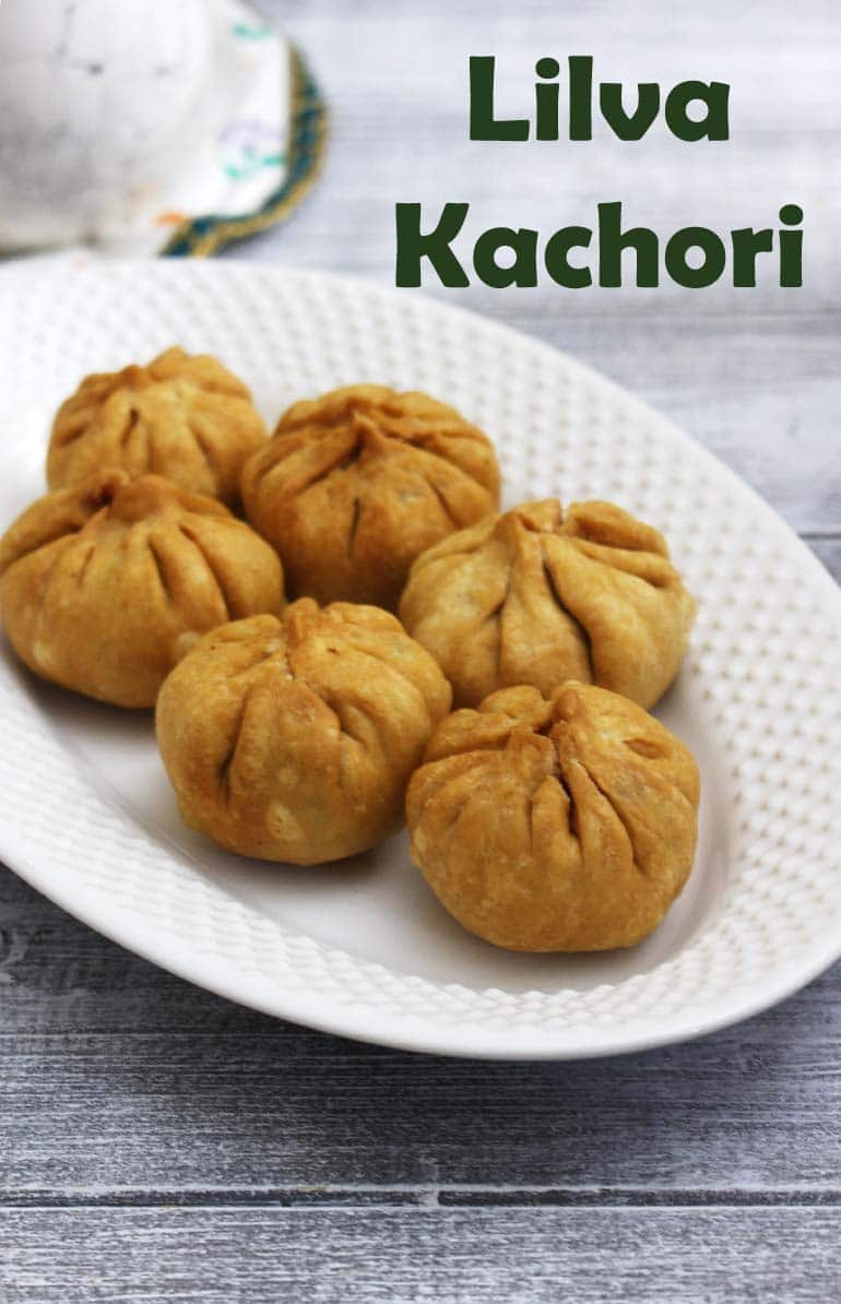 Lilva Kachori Recipe (How to make Fresh Tuvar Dana Kachori)