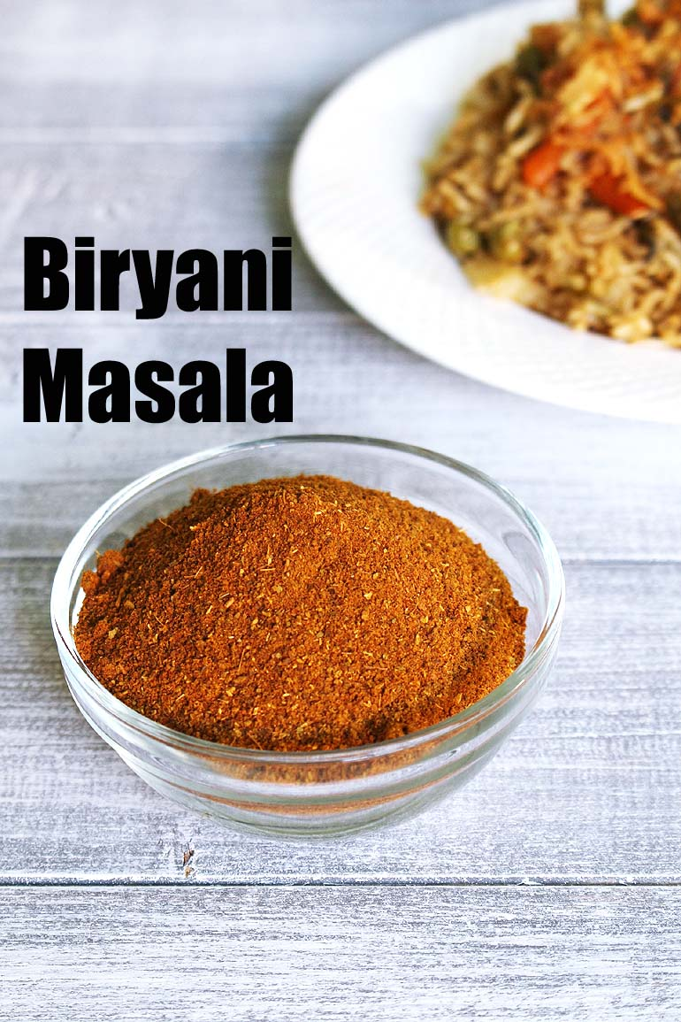 Biryani Masala Recipe (How to make Biryani Masala Powder)
