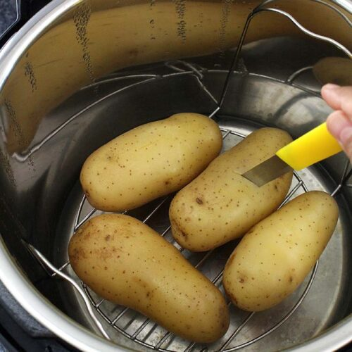 How to Cook Potatoes in Instant Pot (Boil Potatoes in IP)