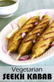 Veg Kabab Recipe (Incredibly Delicious Veg Seekh Kabab Recipe)