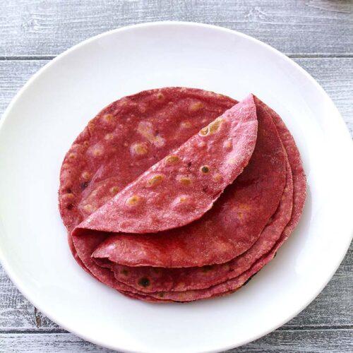 Beetroot Roti Recipe (Healthy Beetroot Chapati Recipe)