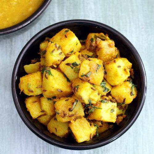 Jeera Aloo Recipe (How to make Jeera Aloo Sabji Recipe)