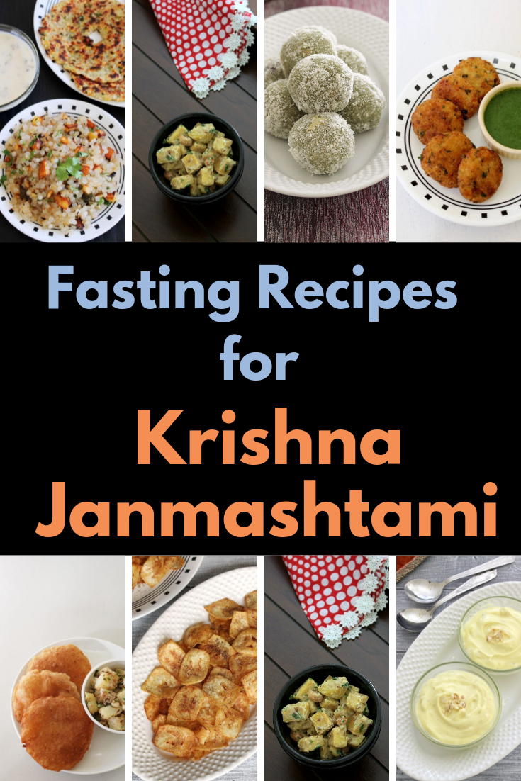 Krishna Janmashtami Recipes (Prasad and Fast Recipes)