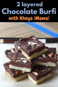 Chocolate burfi recipe (How to make chocolate burfi recipe)