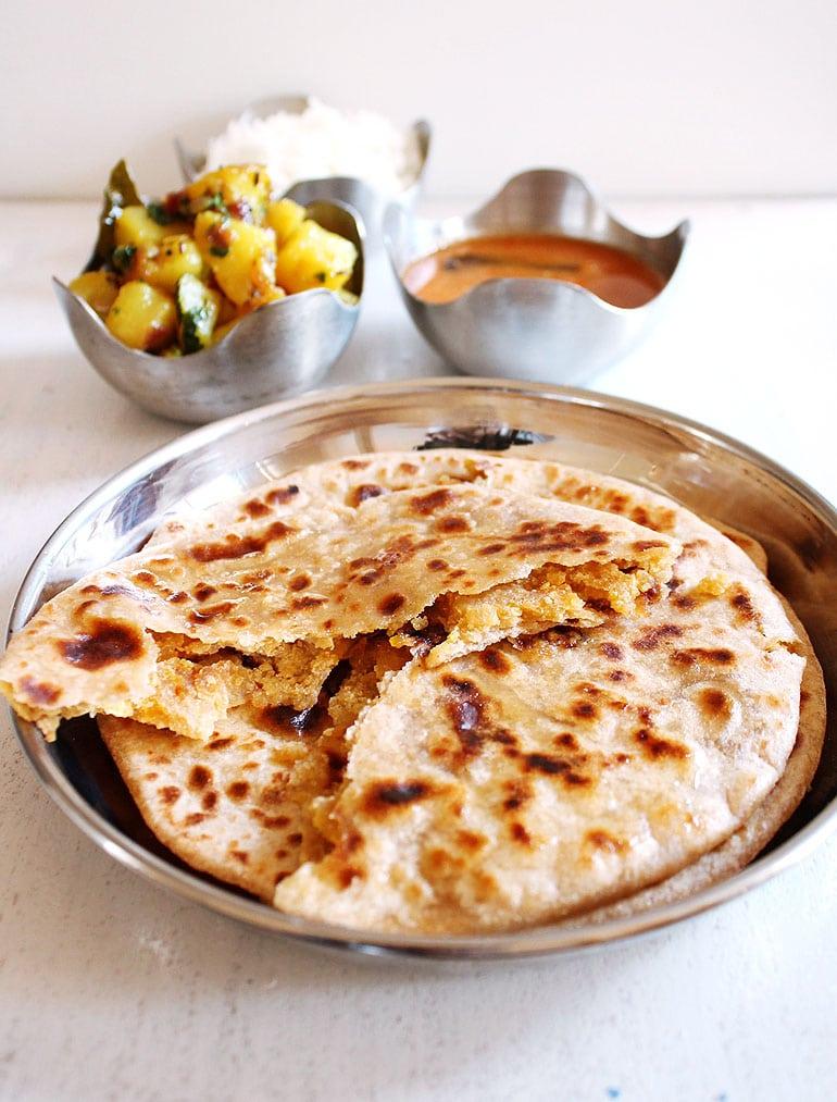 Puran Poli Recipe (Maharashtrian Puran Poli recipe)