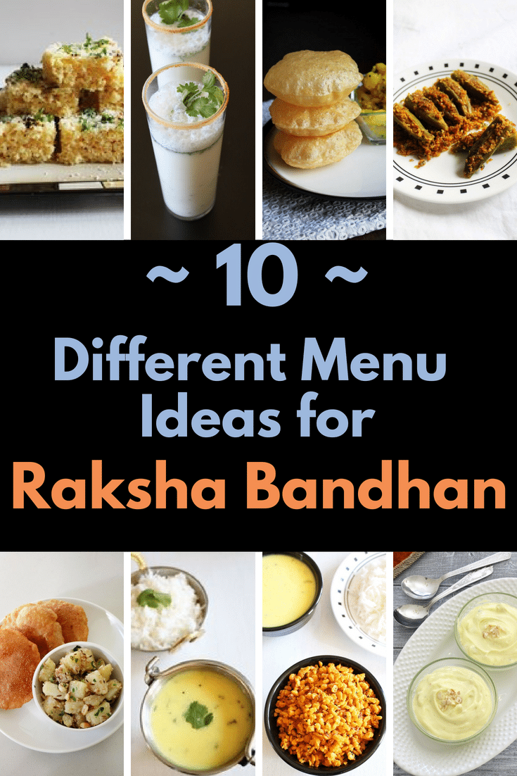 Raksha Bandhan Menu Recipes (Lunch/Dinner Ideas)