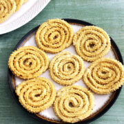 Rice Murukku Recipe (Murukulu or Jantikalu)