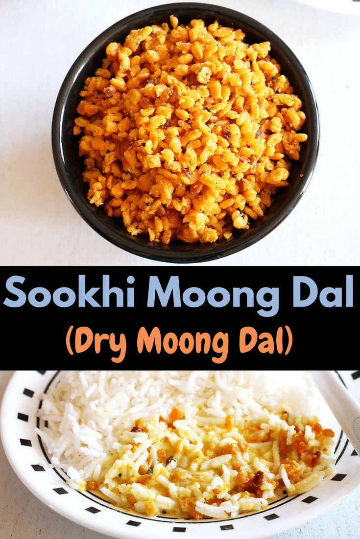 Sookhi Moong Dal Recipe (Dry Moong Dal)