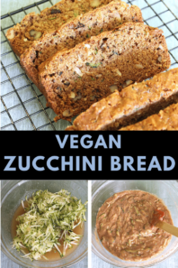Easy Vegan Zucchini Bread Recipe