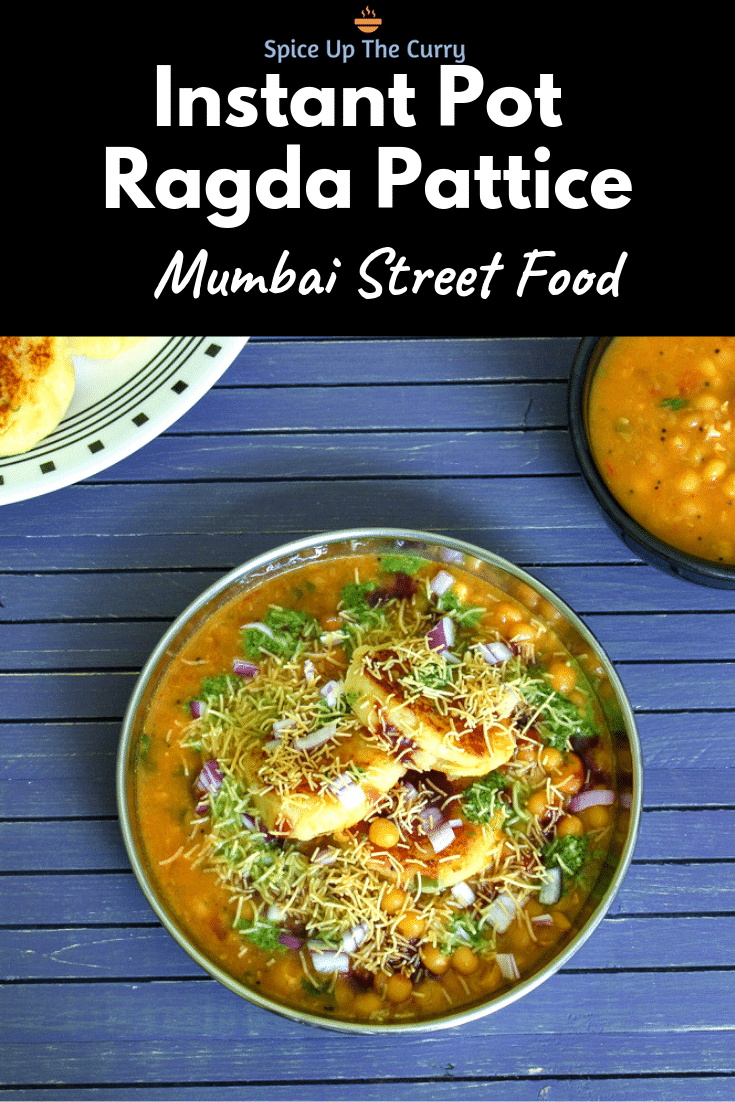 Instant pot ragda pattice recipe