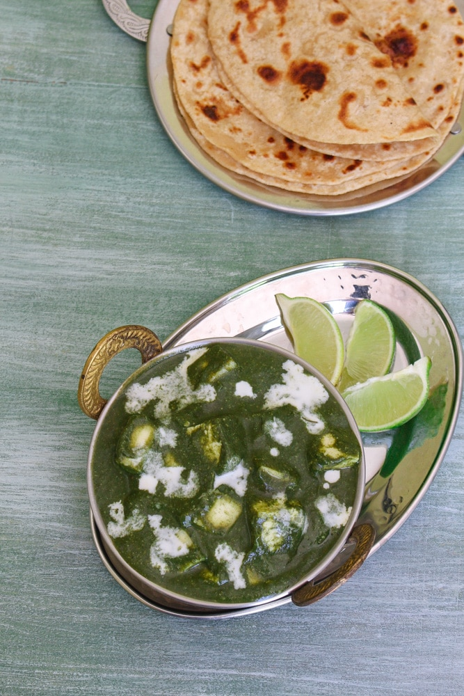 Instant Pot Palak Paneer Recipe