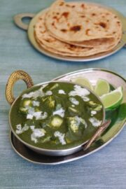 Palak paneer recipe made in instant pot