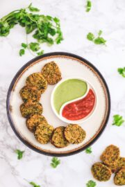How to make Crispy Kothimbir Vadi Recipe