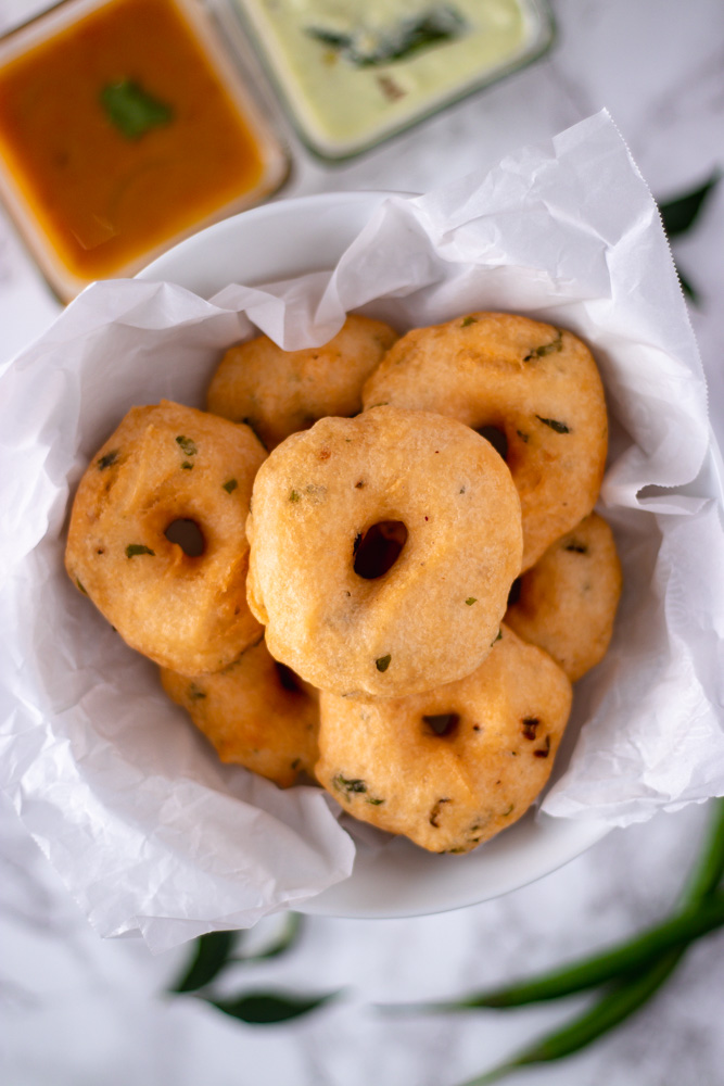 Medu Vada Recipe (Authentic South Indian breakfast)