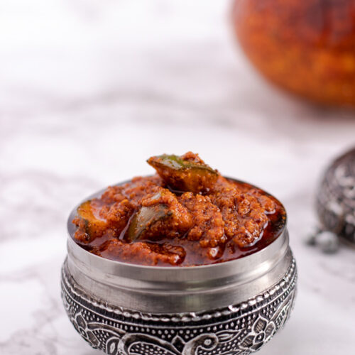 How to make andhra style avakaya pickle recipe