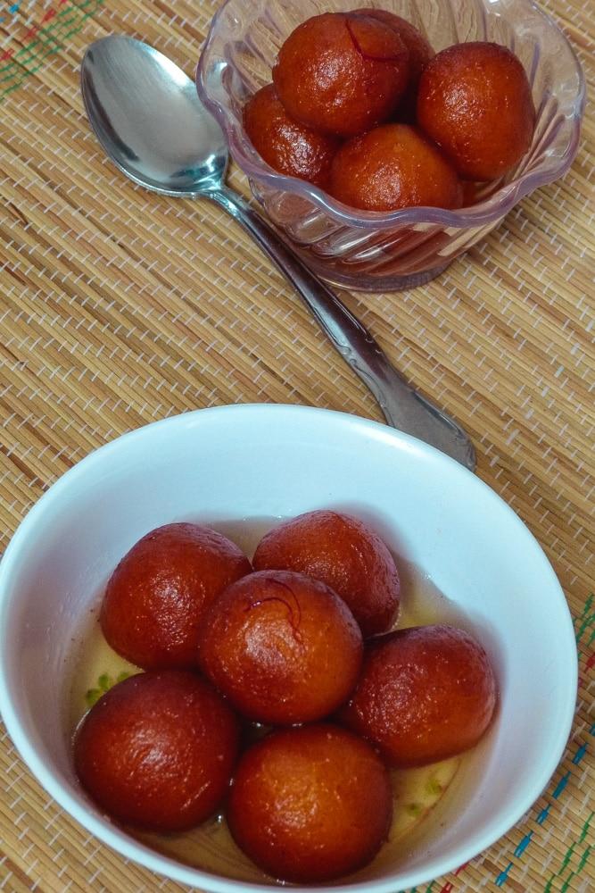 Gulab Jamun Recipe (with Khoya)