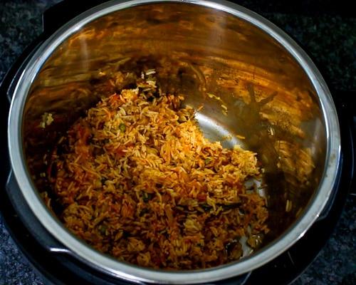 instant pot tomato rice recipe