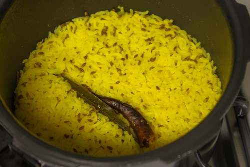 Khichdi is pressure cooked
