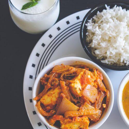 Paneer do pyaza recipe (Restaurant style)