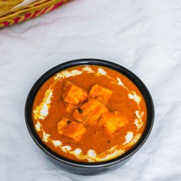 Paneer Makhani Recipe (Makhani Sauce / Gravy)
