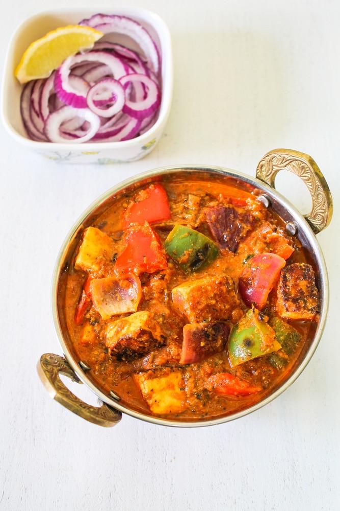 Paneer Tikka Masala Recipe (Restaurant Style)