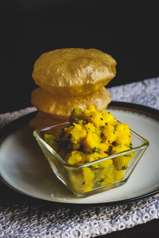 How to make poori bhaji recipe
