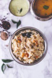 Ven Pongal Recipe (Khara Pongal)