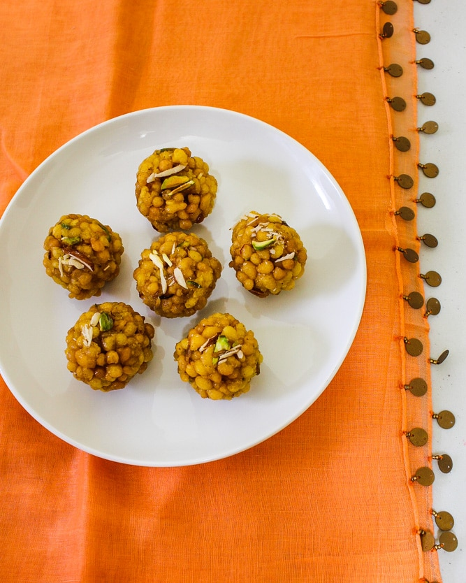 How to make boondi ladoo