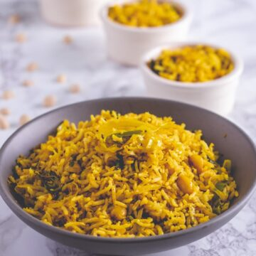 Cabbage Rice Recipe (Indian Cabbage Pulao)