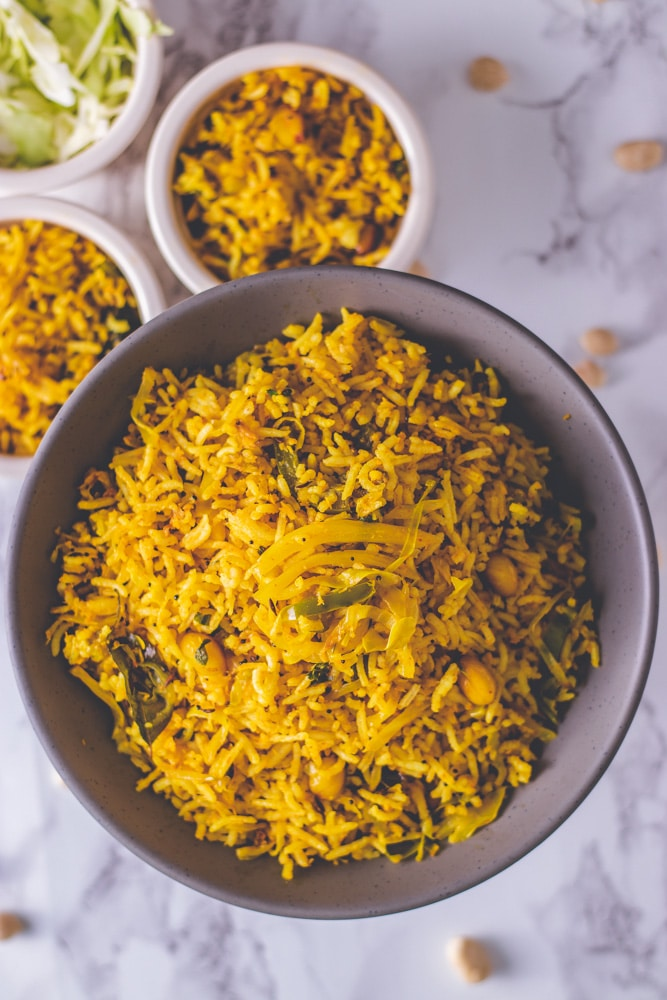 how to make cabbage rice