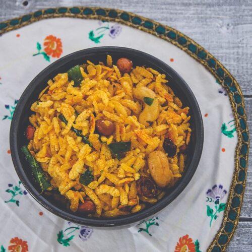 Chiwda namkeen recipe