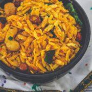 fried poha chivda recipe