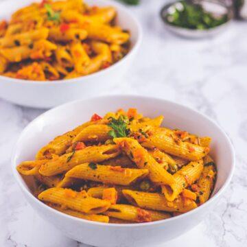Masala pasta recipe (Indian style)