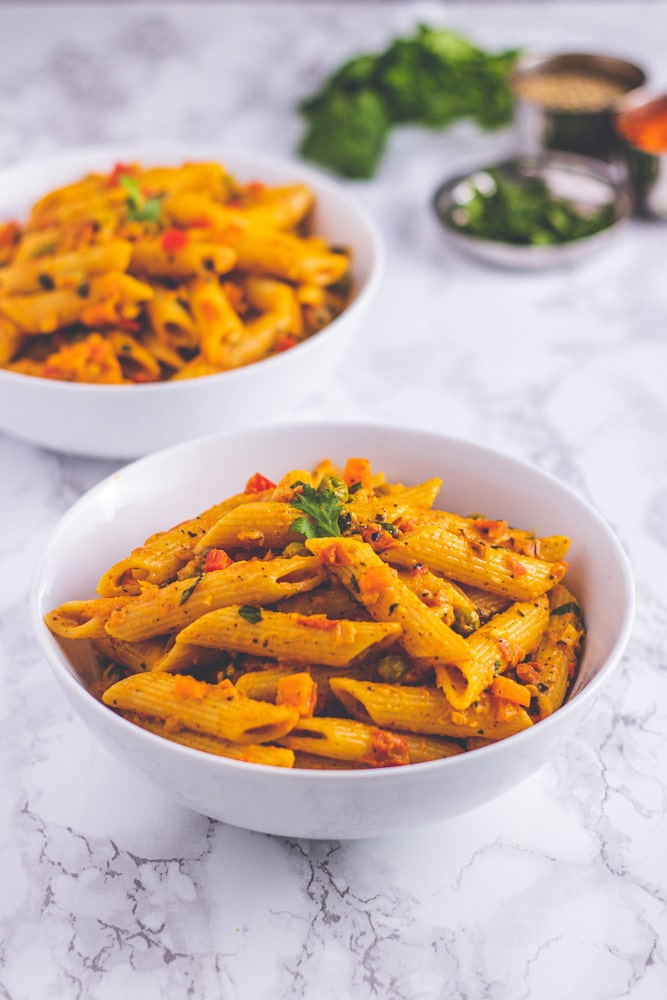 Masala pasta recipe (Indian style)