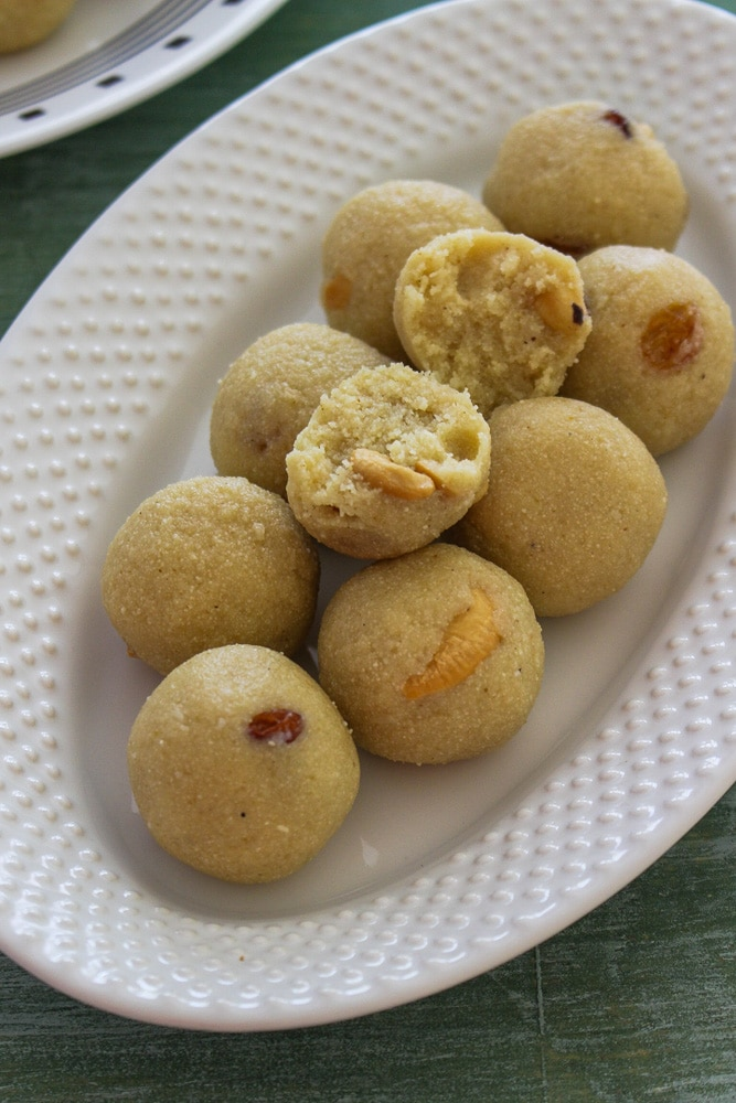 How to make rava laddu recipe