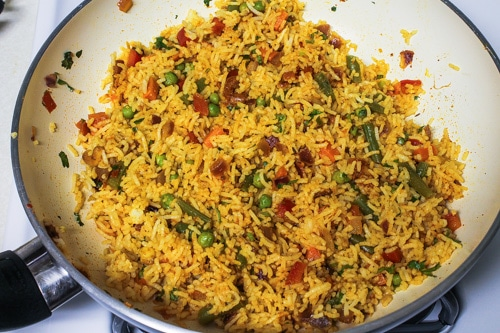 mixed spicy masala pulao