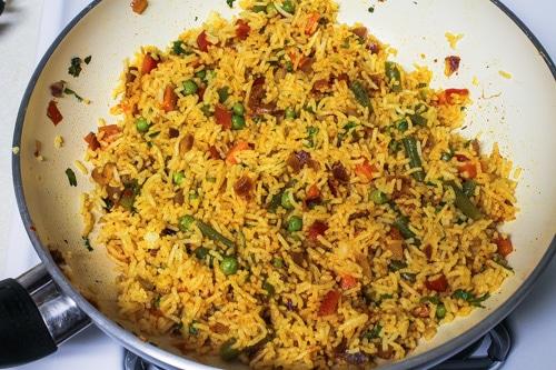 mixed spicy masala pulao