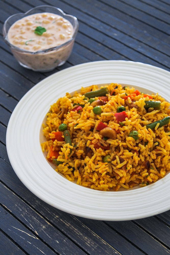 Spicy Veg Pulao Recipe