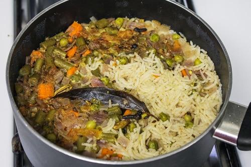 pulao is ready
