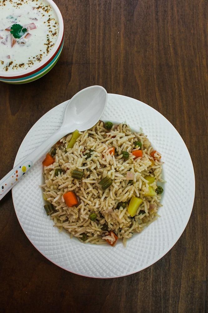 how to make veg pulao