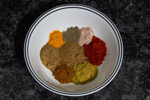 spices for frankie masala