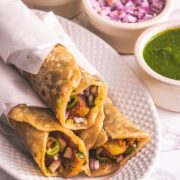 indian burrito recipe (Mumbai burrito)
